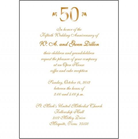 008 Fantastic 50th Anniversary Invitation Wording Sample Inspiration  Wedding 60th In Tamil Birthday480