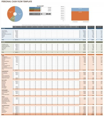 008 Fantastic Cash Flow Template Excel Free Highest Clarity  Statement Download Format In360
