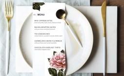 008 Fantastic Dinner Party Menu Template Design  Word Elegant Free Google Doc