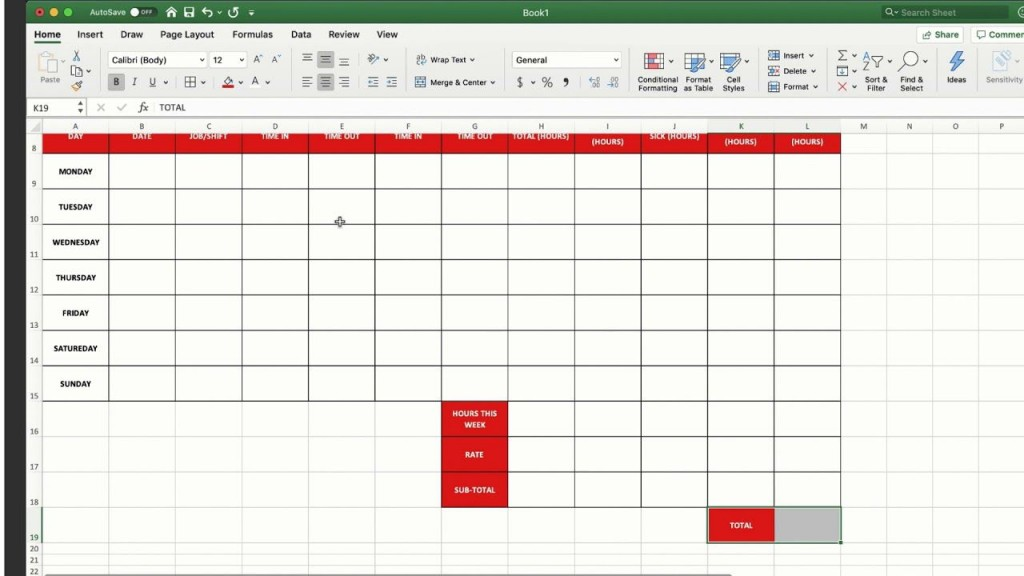 008 Fantastic Employee Time Card Calculator Excel Template Picture Large