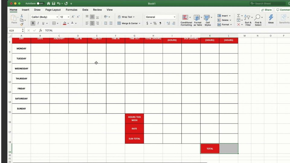 008 Fantastic Employee Time Card Calculator Excel Template Picture 960