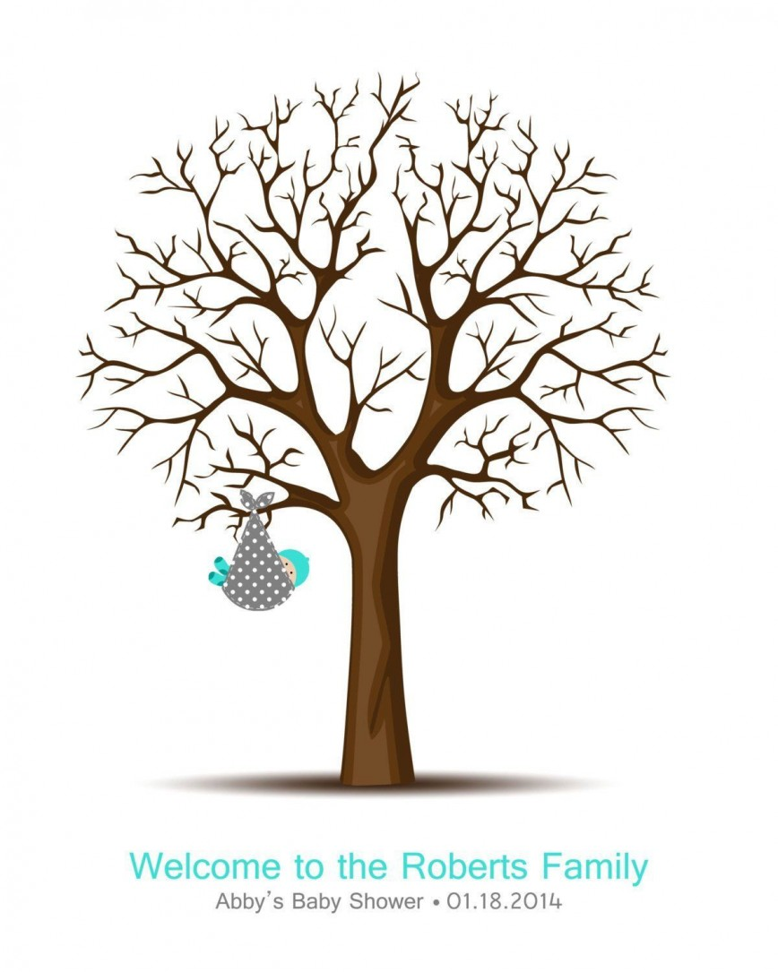 008 Fantastic Family Tree For Baby Book Template High Definition  Printable868