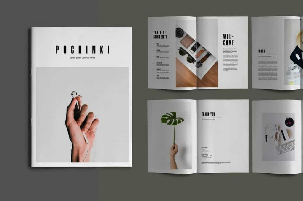008 Fantastic Indesign A4 Brochure Template Free Download Photo Large