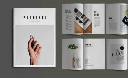008 Fantastic Indesign A4 Brochure Template Free Download Photo