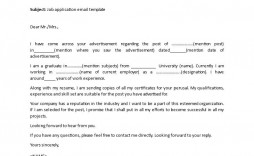 008 Fantastic Job Application Email Template High Def  Formal For Example Opportunitie Subject