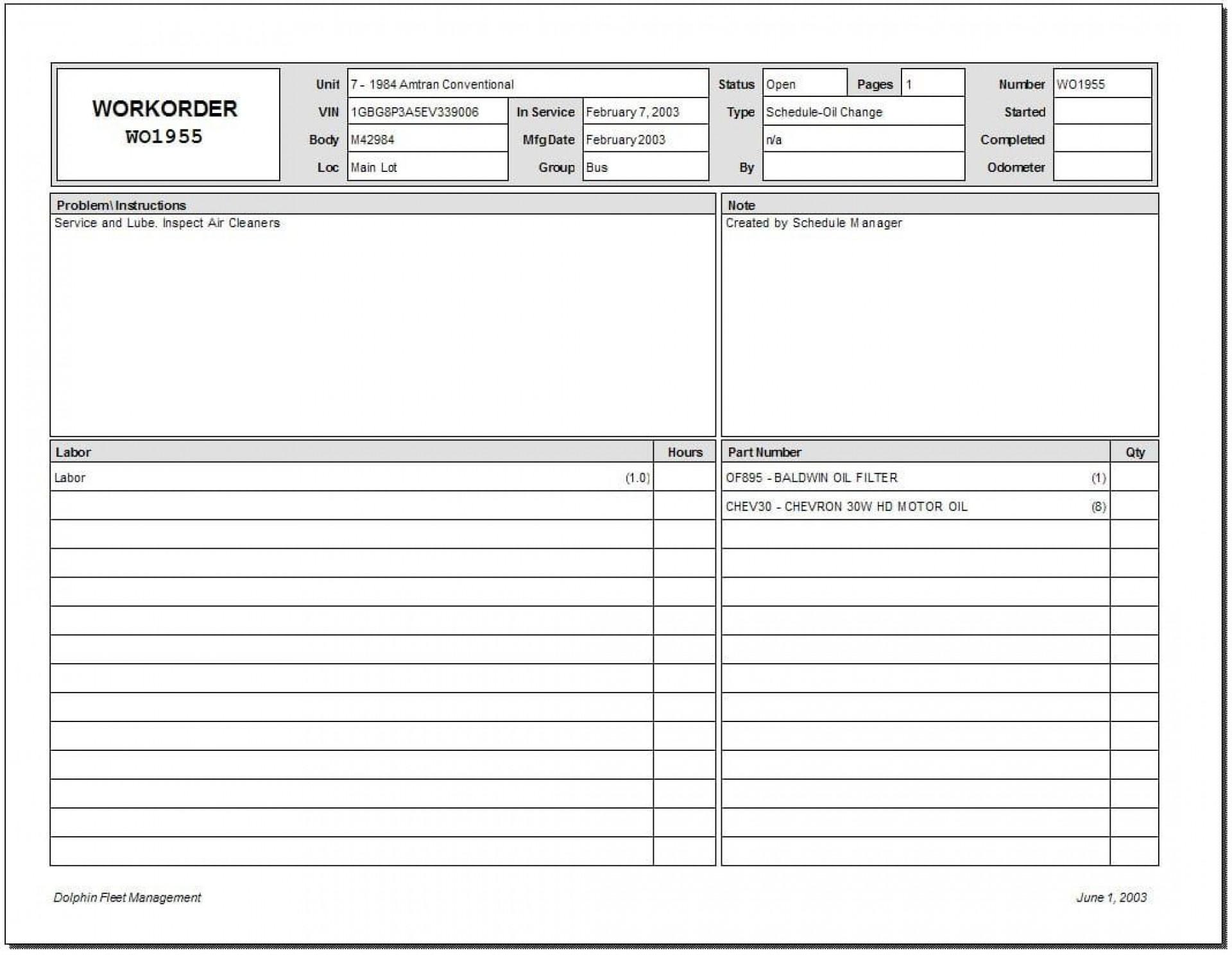 008 Fantastic Microsoft Excel Work Order Template Inspiration 1920