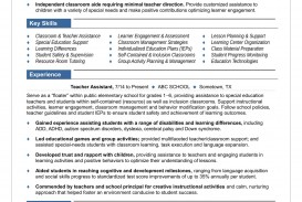 008 Fantastic Resume Example For Teaching Job High Definition  Sample Position In College Format