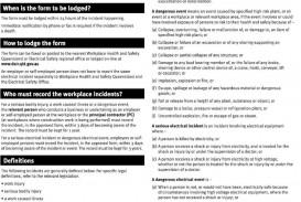 008 Fantastic Workplace Incident Report Form Western Australia Concept