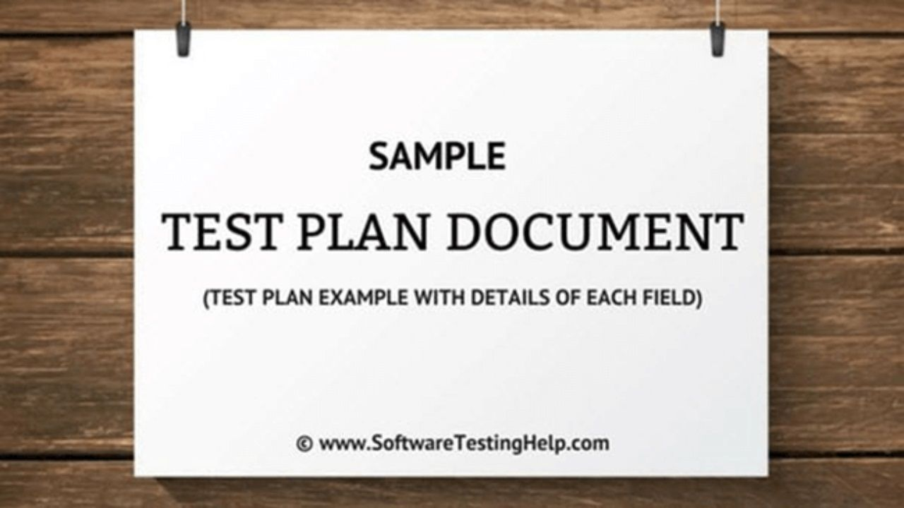008 Fascinating Agile Test Plan Template Highest Clarity  Word Example DocumentFull