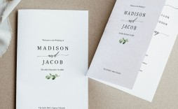 008 Fascinating Catholic Wedding Program Template High Resolution  Roman Idea (with Readings)