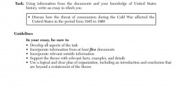008 Fascinating Cold War Essay Image  Title Thesi