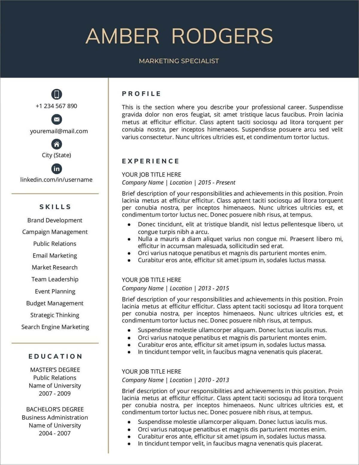 008 Fascinating Entry Level Resume Template Google Doc Highest Quality  DocsFull