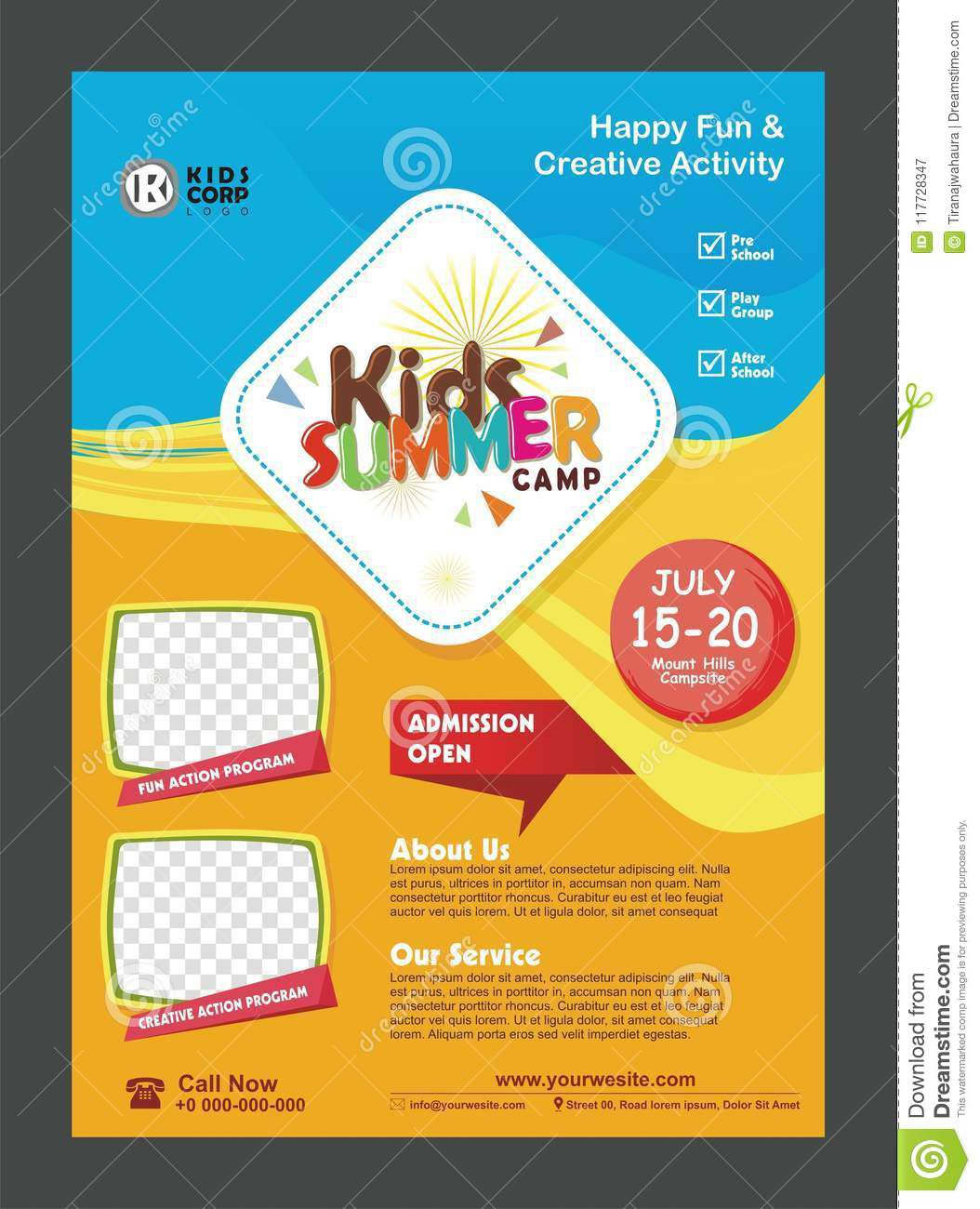 008 Fascinating Free After School Program Flyer Template Picture Full