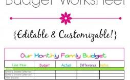 008 Fascinating Free Monthly Budget Template Printable Design  Simple Worksheet Household Planner Uk