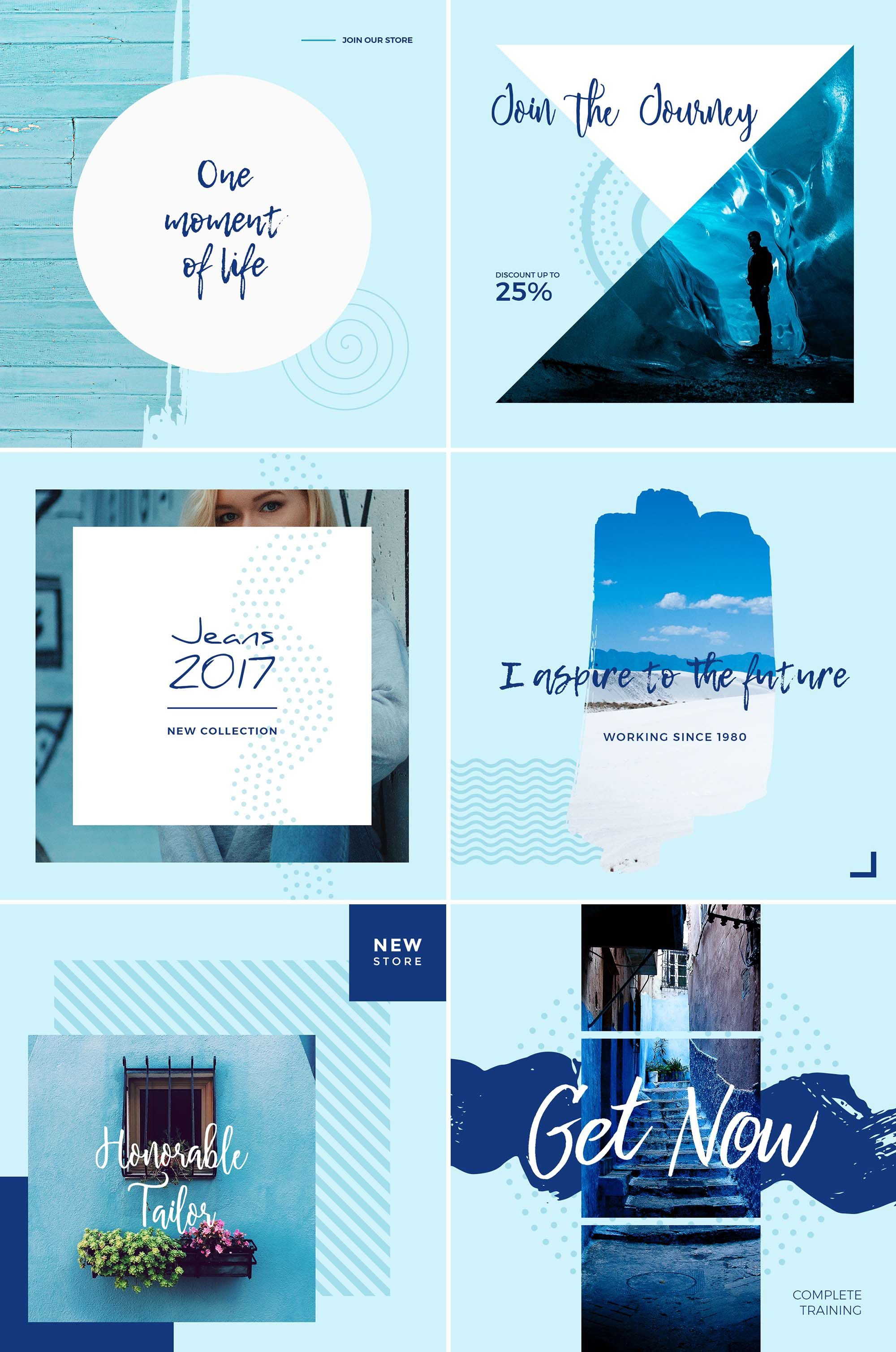 008 Fascinating Free Social Media Template Design  Templates Website Post Download For PowerpointFull