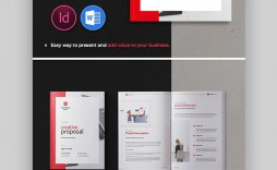 008 Fascinating Graphic Design Proposal Template Indesign  Free