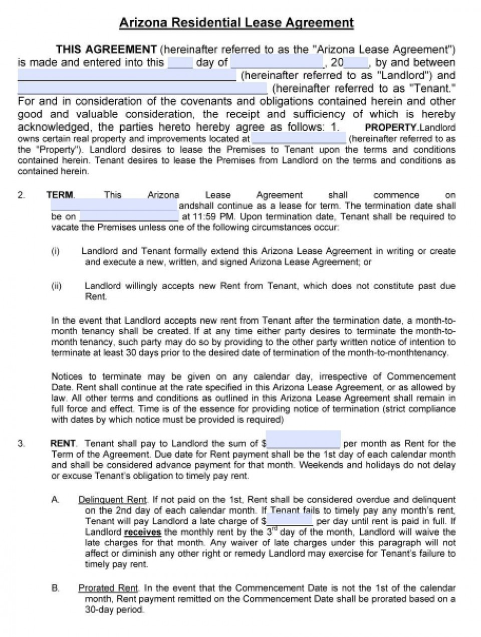 008 Fascinating Housing Rental Agreement Template Free Highest Clarity 960