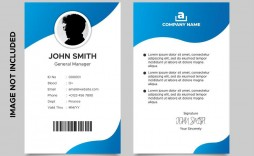 008 Fascinating Id Card Template Free High Definition  Download Pdf Design