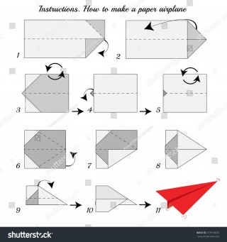 008 Fascinating Printable Simple Paper Airplane Instruction High Resolution  Plane320