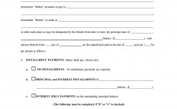 008 Fascinating Promissory Note Template Free Photo  Pdf Florida Blank Form