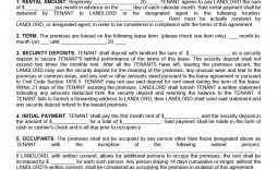 008 Fascinating Room Rental Agreement Template Ireland Example