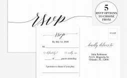 008 Fascinating Rsvp Postcard Template For Word Highest Quality