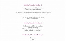 008 Fascinating Thank You Note Template Wedding Shower Image  Bridal Card Sample Wording