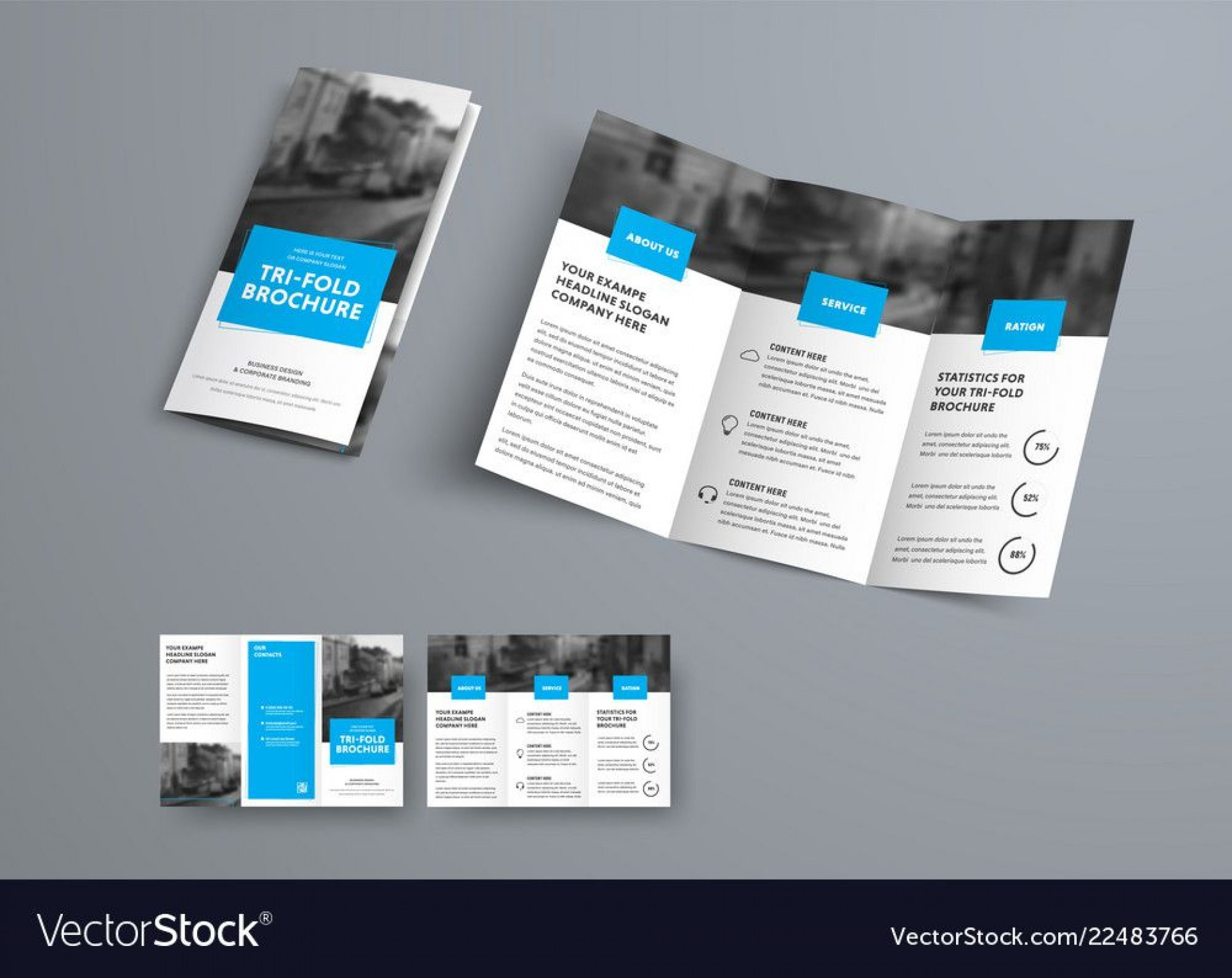008 Fascinating Three Fold Brochure Template Example  Word Free 3 Psd Download1920
