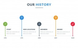 008 Fascinating Timeline Example Presentation  Project Slide Template