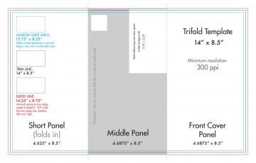 008 Fascinating Tri Fold Brochure Indesign Template Concept  Free Adobe360