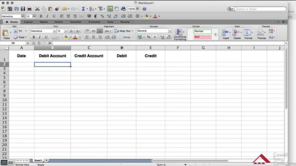 008 Fearsome Accounting Journal Entry Template Word Example Large