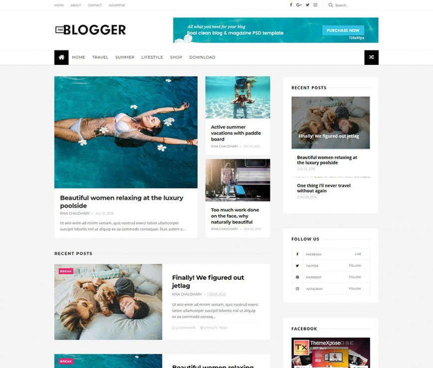 008 Fearsome Free Responsive Blogger Template Highest Clarity  Templates Download Theme Best Xml