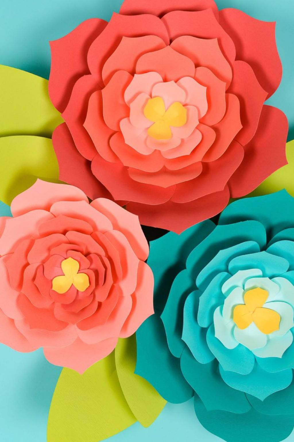 008 Fearsome Giant Paper Flower Template Free Download Sample Large