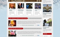 008 Fearsome Government Website Html Template Free Download Design  With Cs