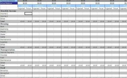 008 Fearsome Personal Budget Template Excel Design  Monthly Sheet Free 2007 South Africa