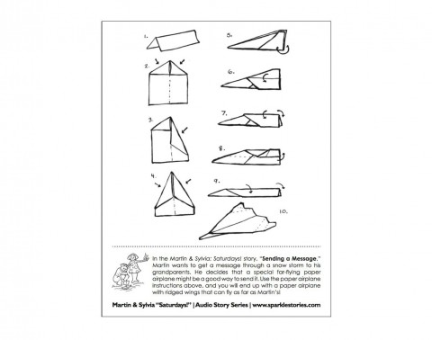 008 Fearsome Printable Paper Airplane Design High Definition  Free Instruction Pdf Simple A4 Plane480