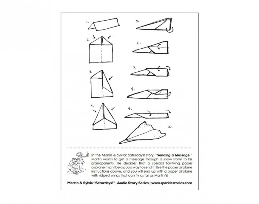 008 Fearsome Printable Paper Airplane Design High Definition  Free Instruction Pdf Simple A4 Plane868