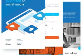 008 Fearsome Social Media Proposal Template High Definition  Plan Sample Pdf 2018