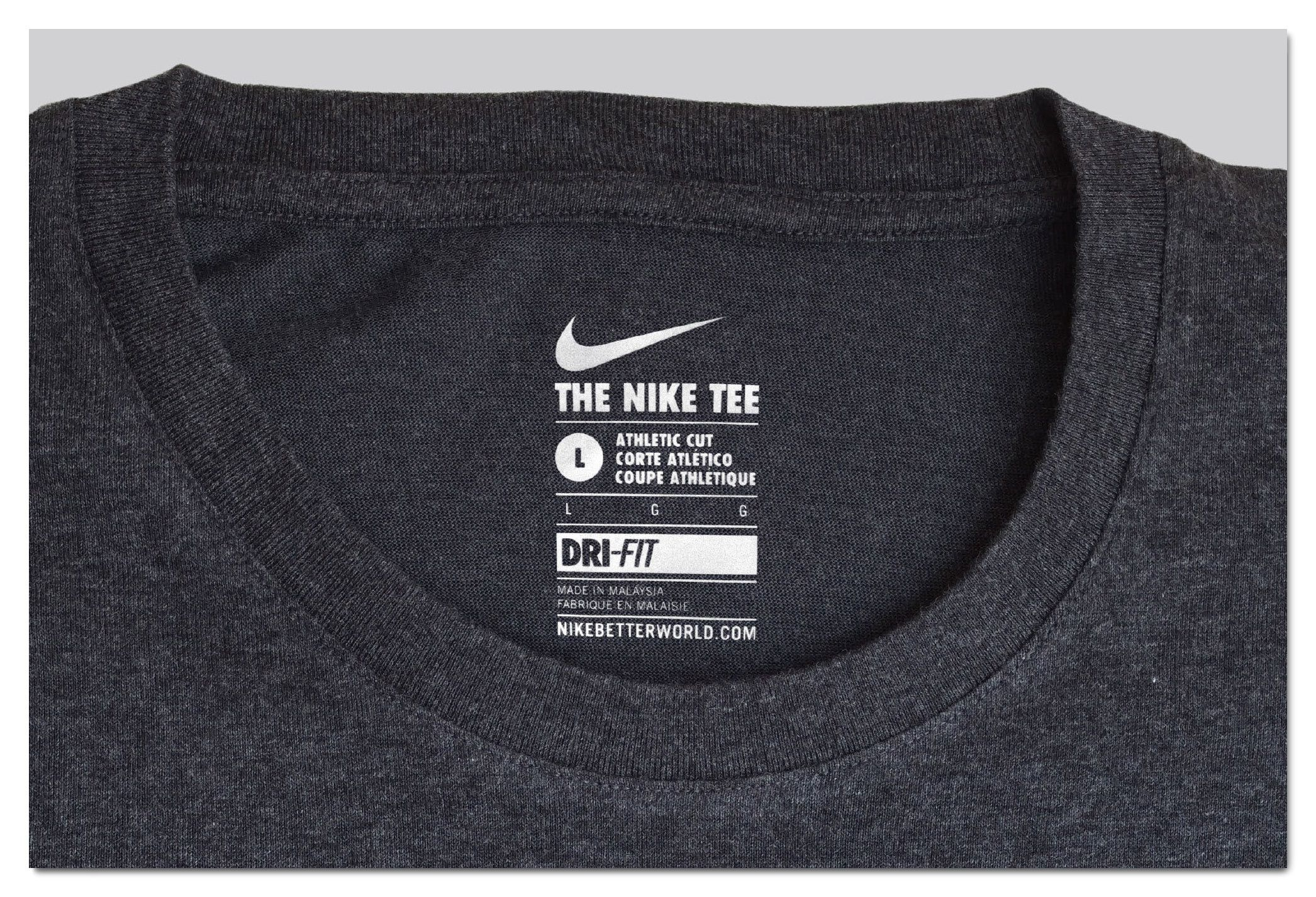 008 Fearsome T Shirt Tag Template Photo  Neck LabelFull