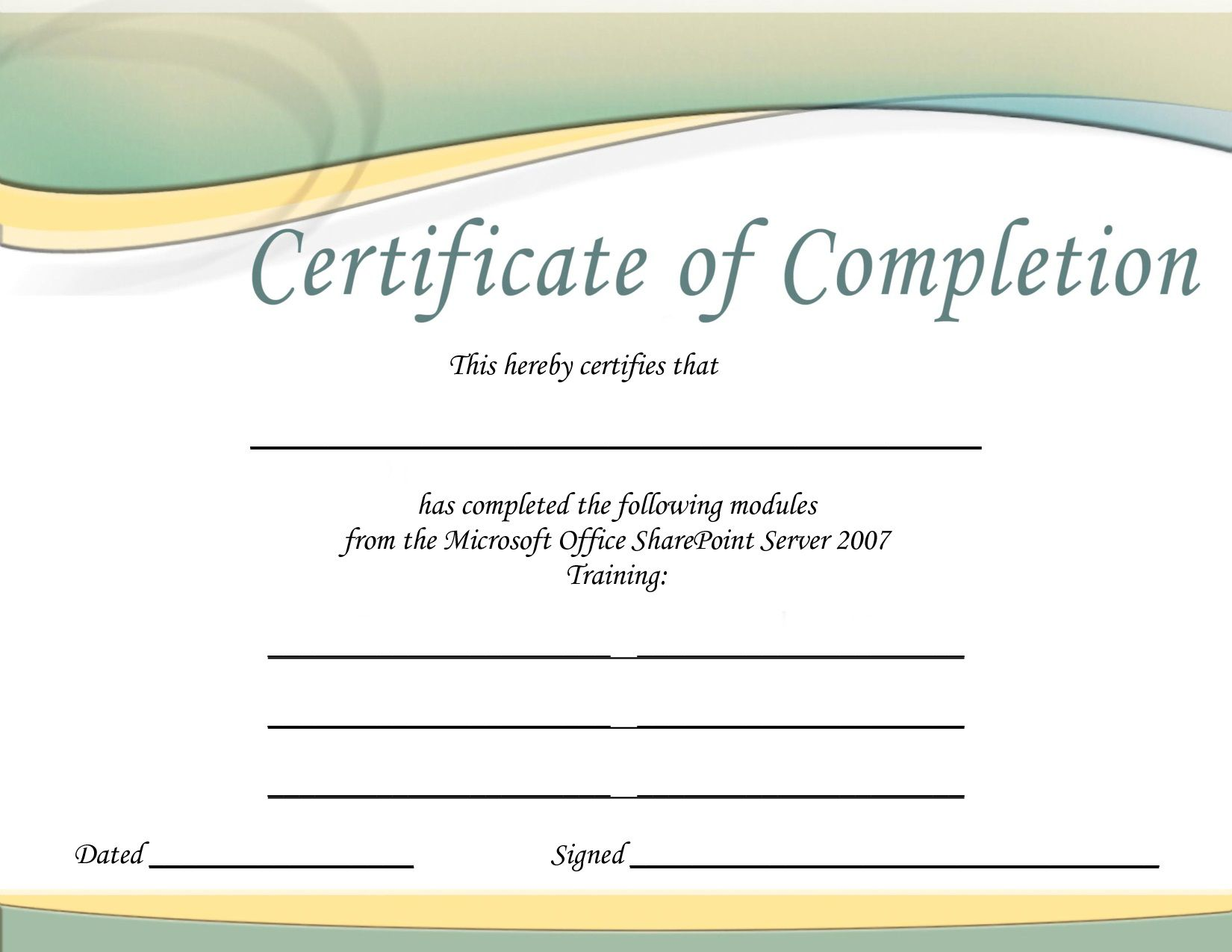 008 Fearsome Training Certificate Template Free Idea  Computer Download Golf Course Gift WordFull