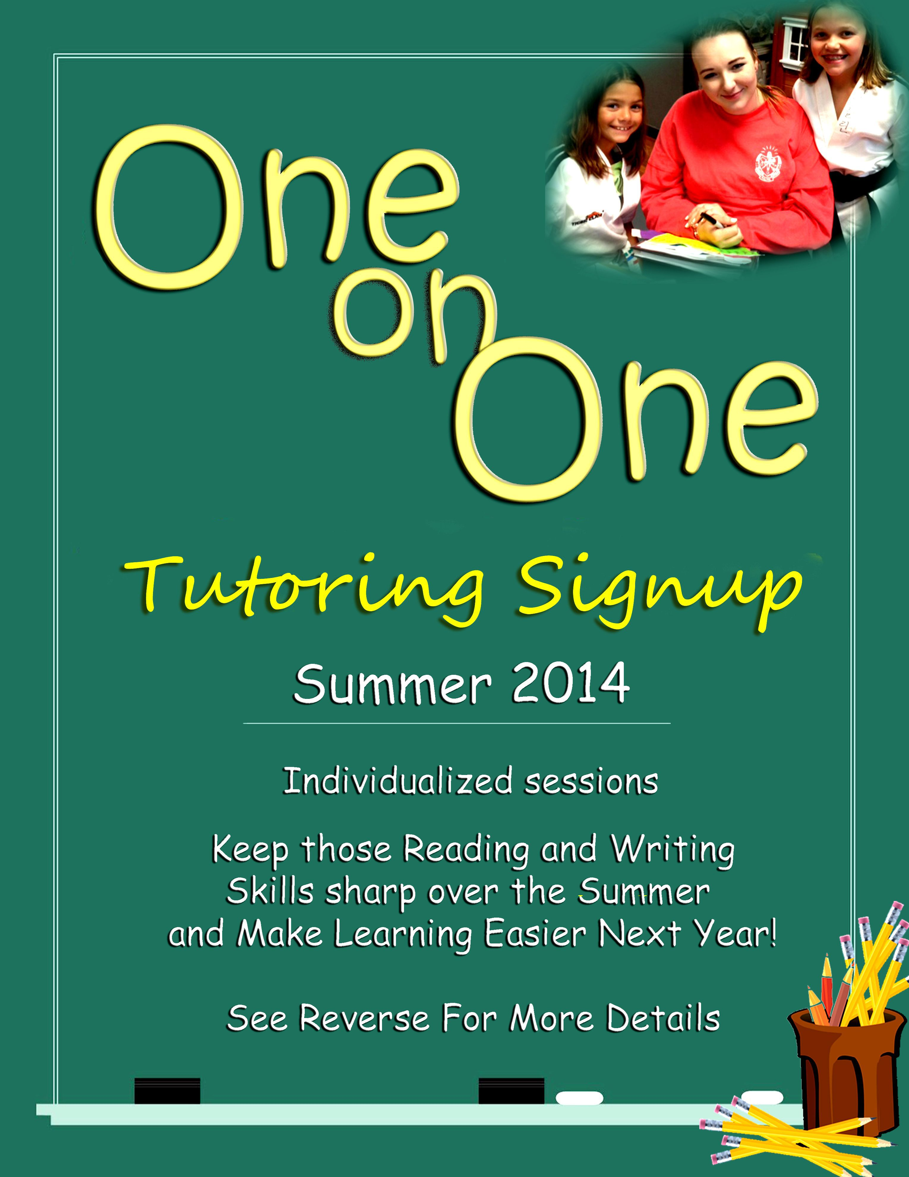 008 Fearsome Tutor Flyer Template Free Example Full