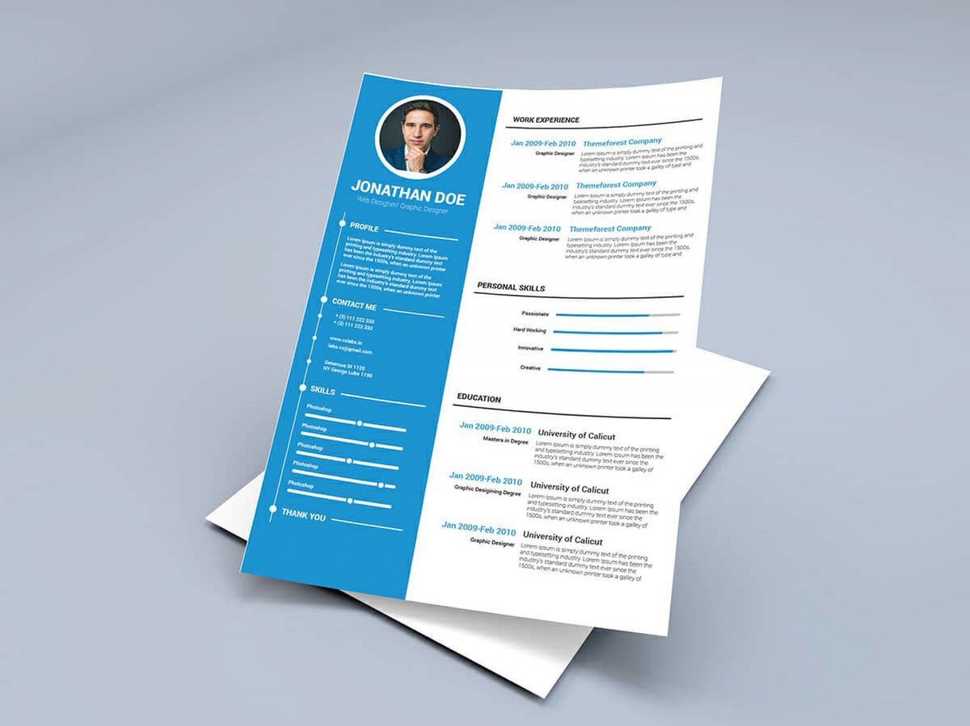 008 Fearsome Two Column Resume Template Word Photo  Cv Free Microsoft1920
