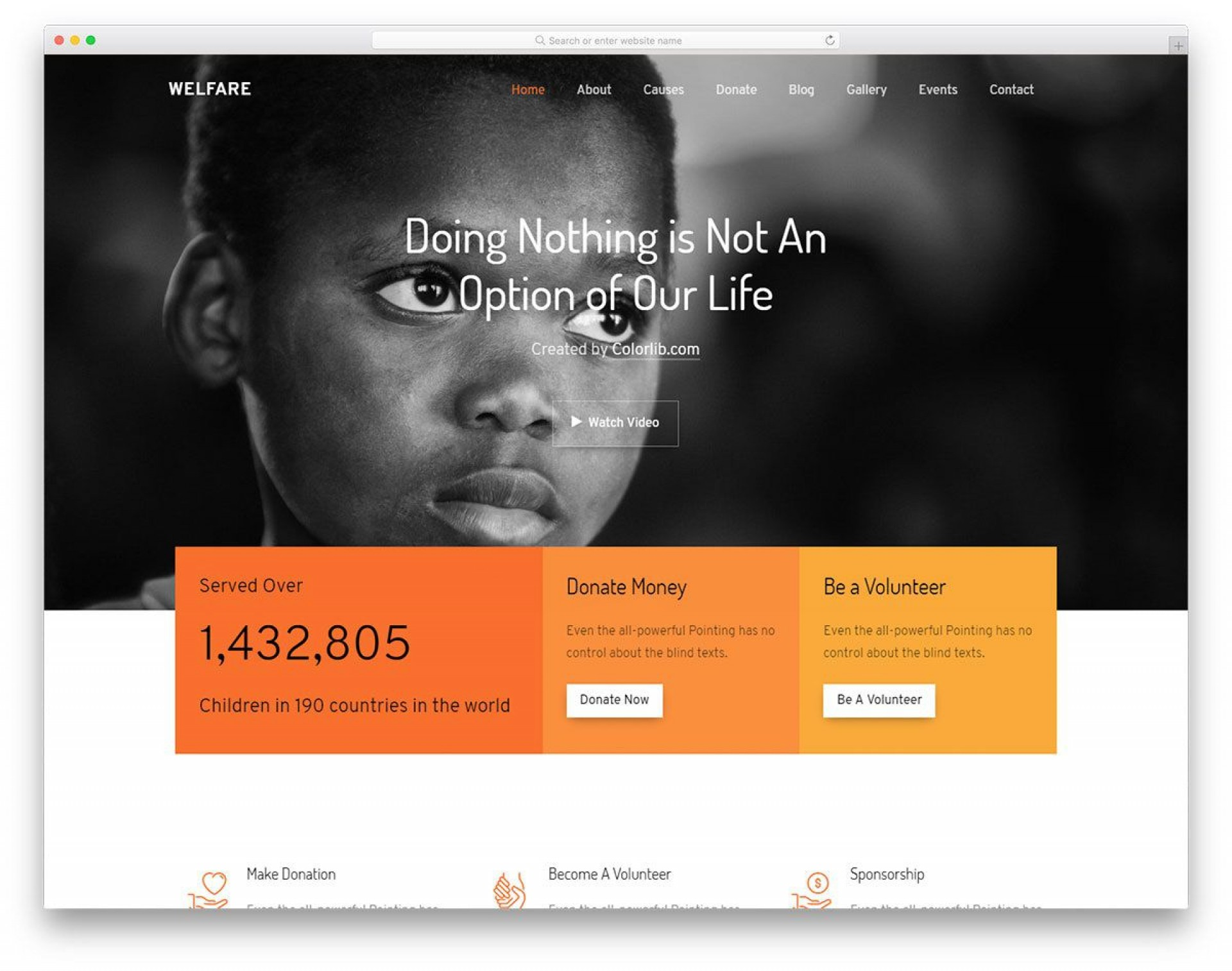008 Formidable Free Non Profit Website Template Highest Quality  Templates Organization Charity1920