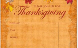 008 Formidable Free Thanksgiving Invitation Template Picture  Templates Printable Dinner Download Potluck
