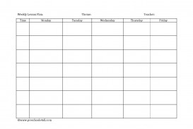 008 Formidable Kindergarten Lesson Plan Template Sample  Word Example Ontario