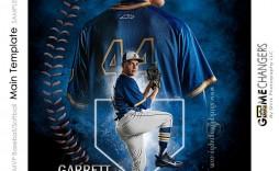 008 Formidable Photoshop Baseball Magazine Cover Template Inspiration