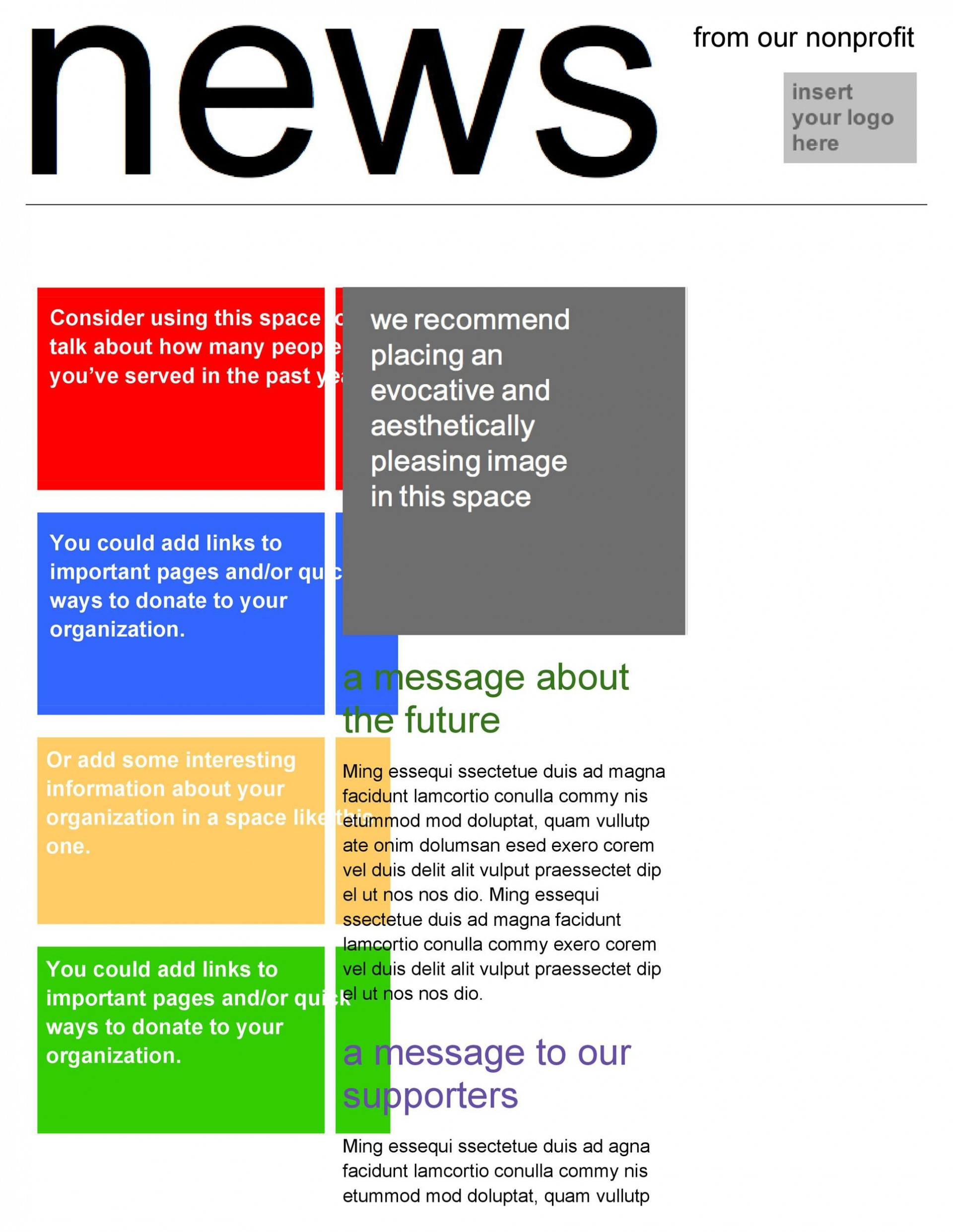 008 Formidable School Newsletter Template Word Sample  Free Classroom For Microsoft1920