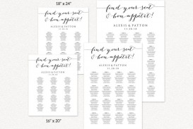 008 Formidable Seating Chart Wedding Template Idea  Powerpoint Table Plan Reception Round