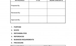 008 Formidable Standard Operating Procedure Template Word Picture  Example Free Microsoft Download