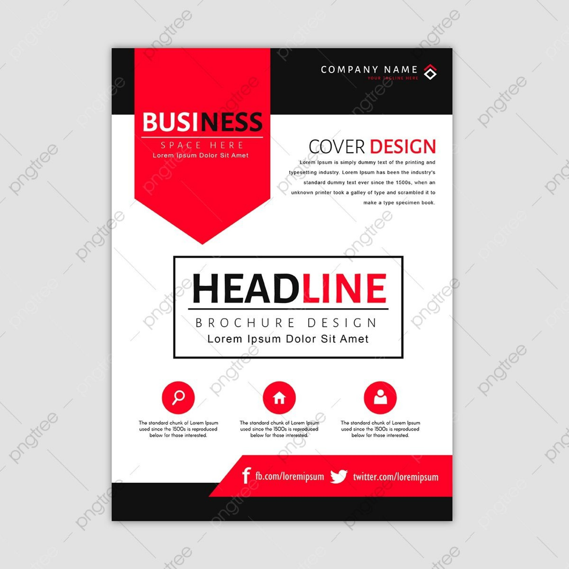 008 Frightening Busines Brochure Design Template Free Download Photo 1920